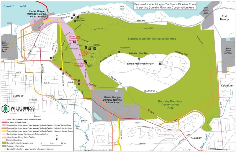 Kinder Morgan Pipeline Map Kinder Morgan Pipeline Route Maps | Wilderness Committee Kinder Morgan Pipeline Map