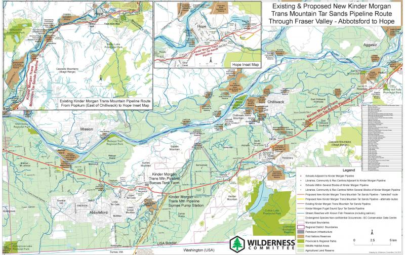 Kinder Morgan Pipeline Route Maps