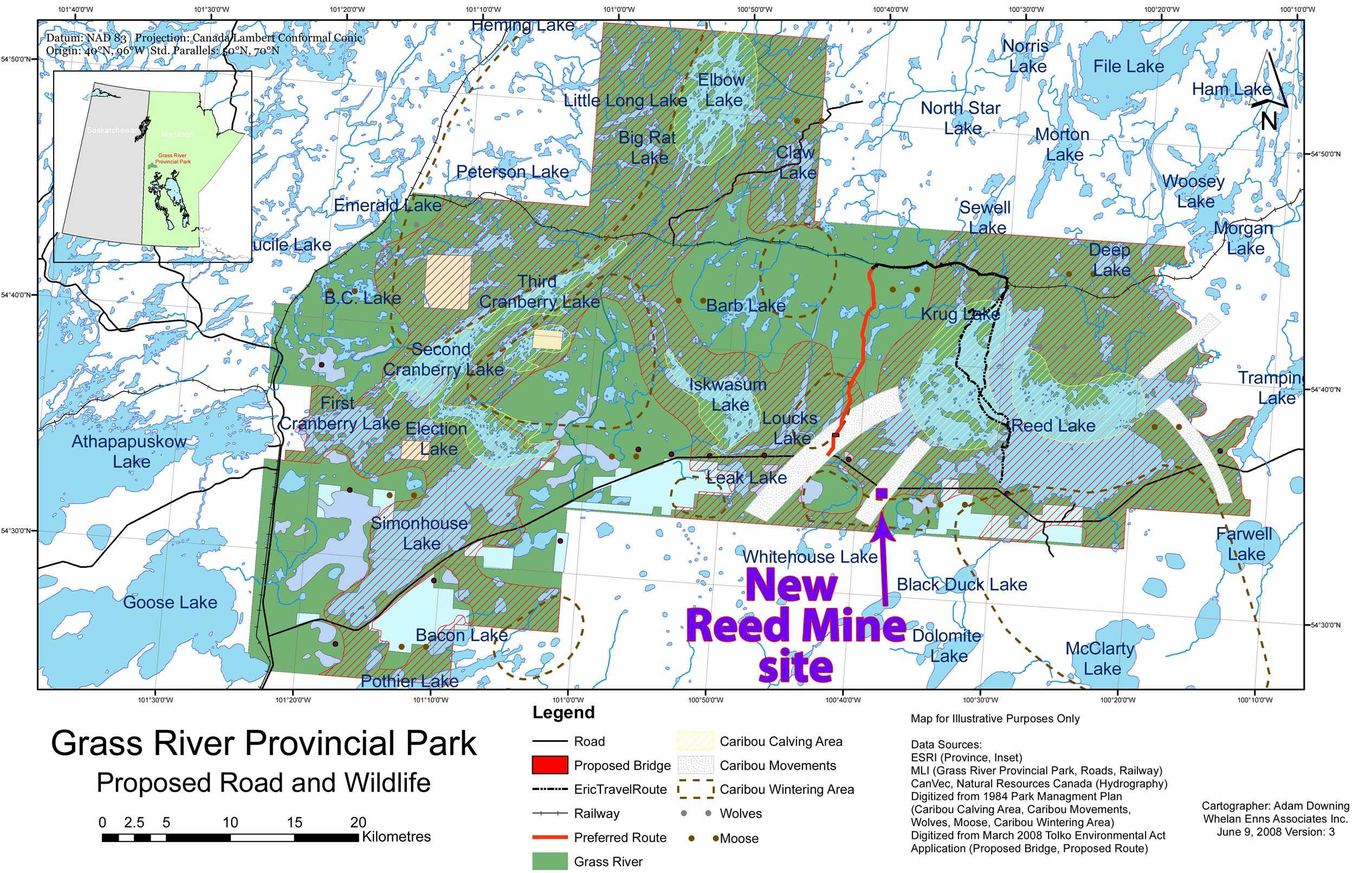 Reed Mine Site Maps | Wilderness Committee