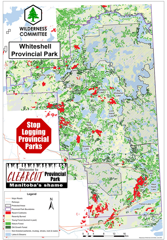 Wilderness Committee Releases Map Of Logging Clearcuts And