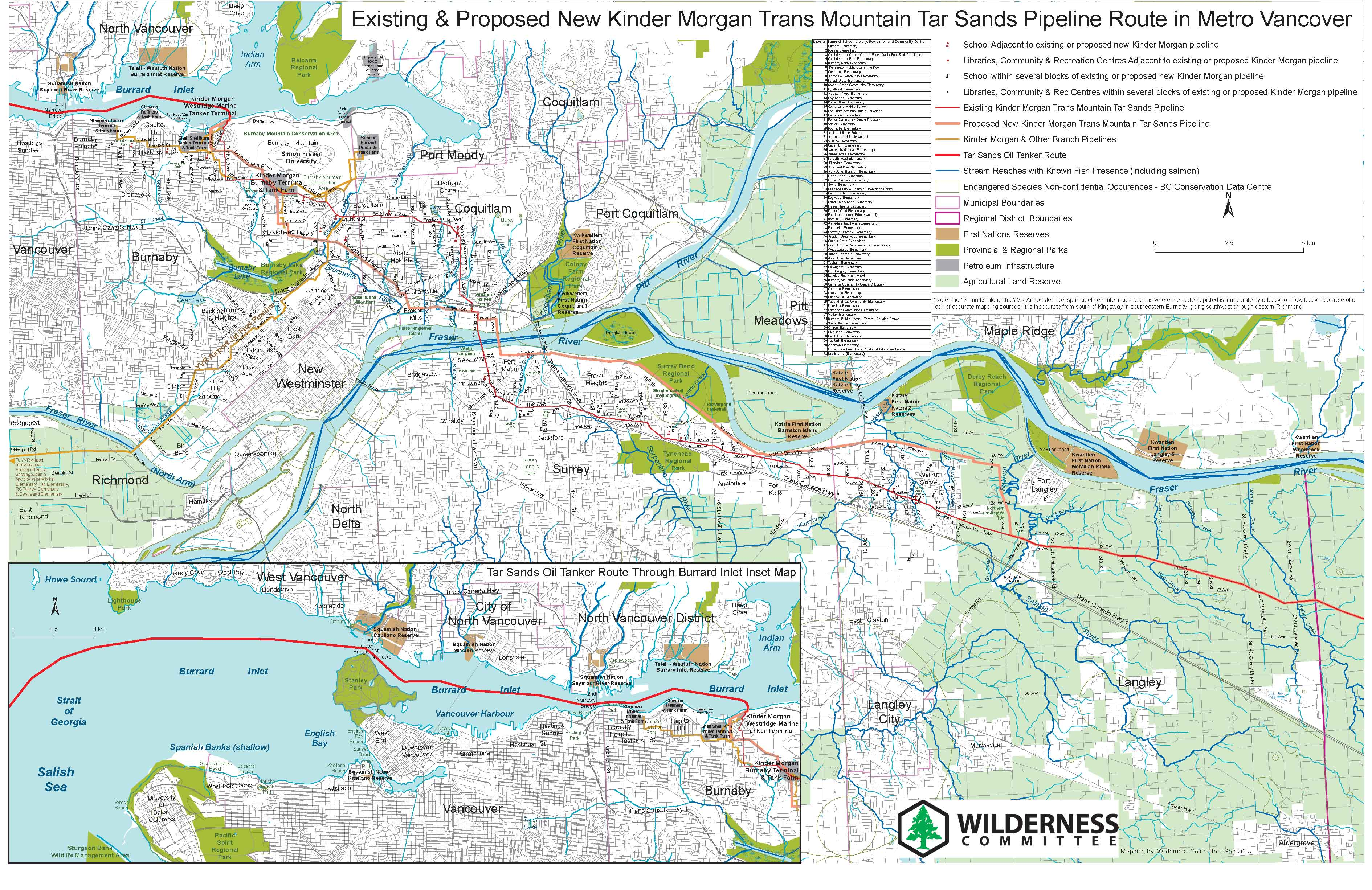 New Downloadable Maps of the Kinder Morgan Pipeline Route ... on keystone pipeline map, cochin pipeline map, seaway pipeline map, proposed pipeline map, express pipeline map, yellowstone pipeline map, puget sound pipeline map,