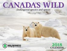 2018 Canadas Willd calendar cover