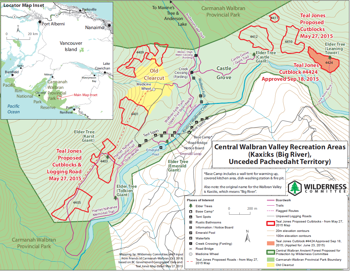 Central Walbran Valley Recreational Areas
