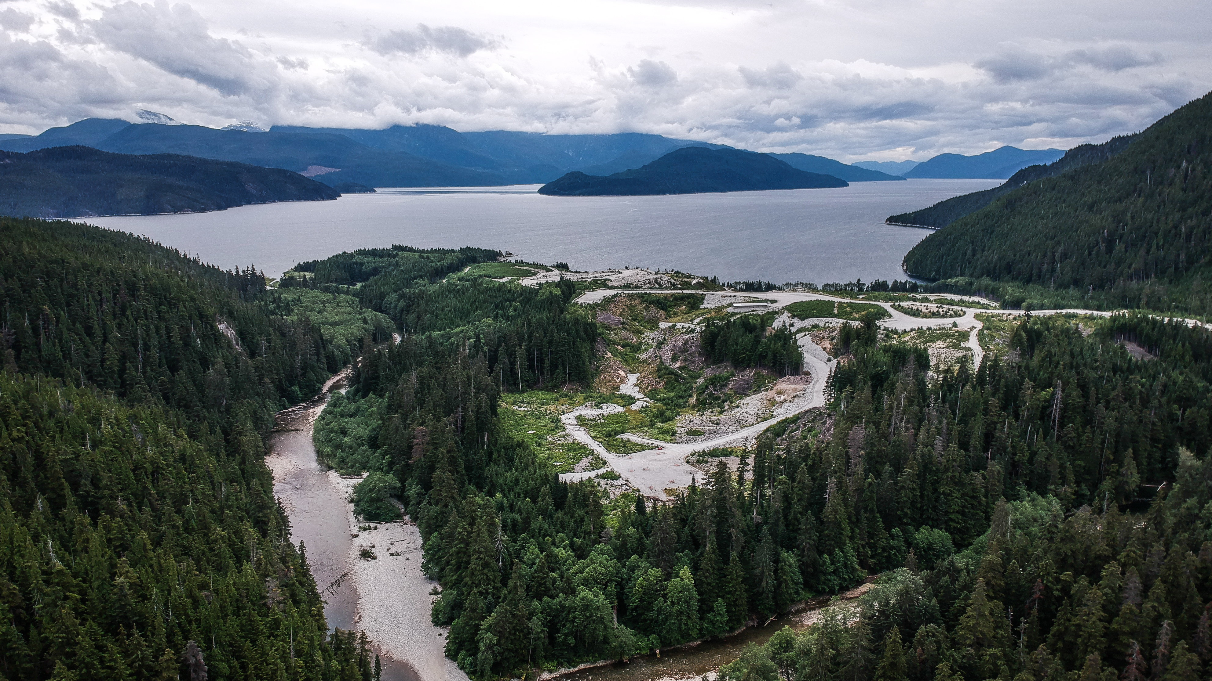 Kitimat BC LNG Site