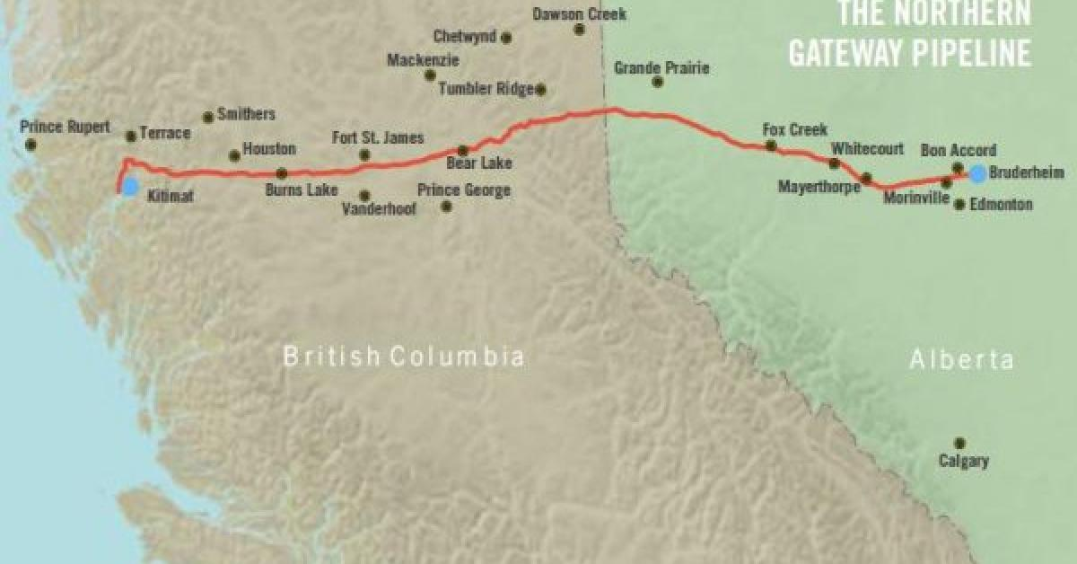 Enbridge committed to controversial Canadian pipeline